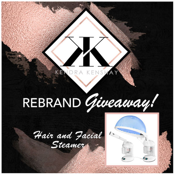 (CLOSED) ReBrand Giveaway 🎉 Hair and Facial Steamer!!